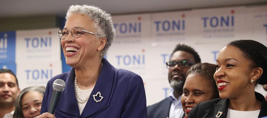 First black Female Mayor