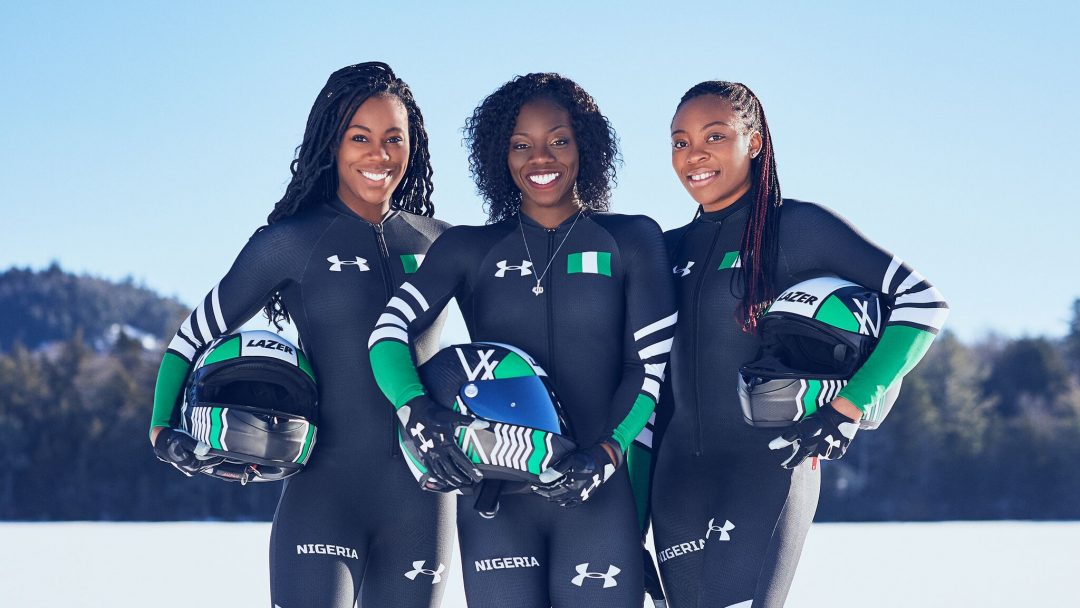 Proudly Nigeria: The First Ever High Speed Sled Team from the Continent of Africa