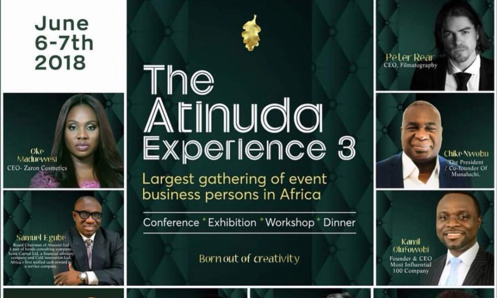 Oaken Events, ATINUDA 3 Set to Turn the Table Around