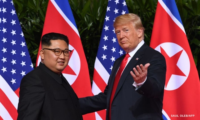Trump and Kim Jong Un Sign Historic Denuclearization Agreement