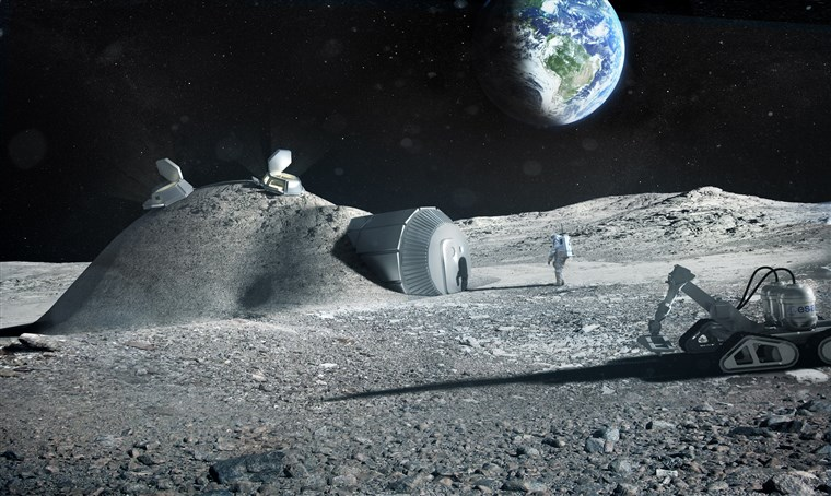 Plans Underway for Human Settlements in the Moon