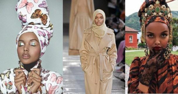 Somali-American Supermodel Halima Aden was a Housekeeper