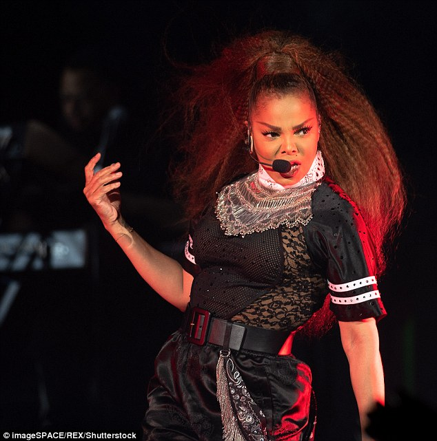 Janet Jackson Gives Emotional Performance at the Global Citizen Festival