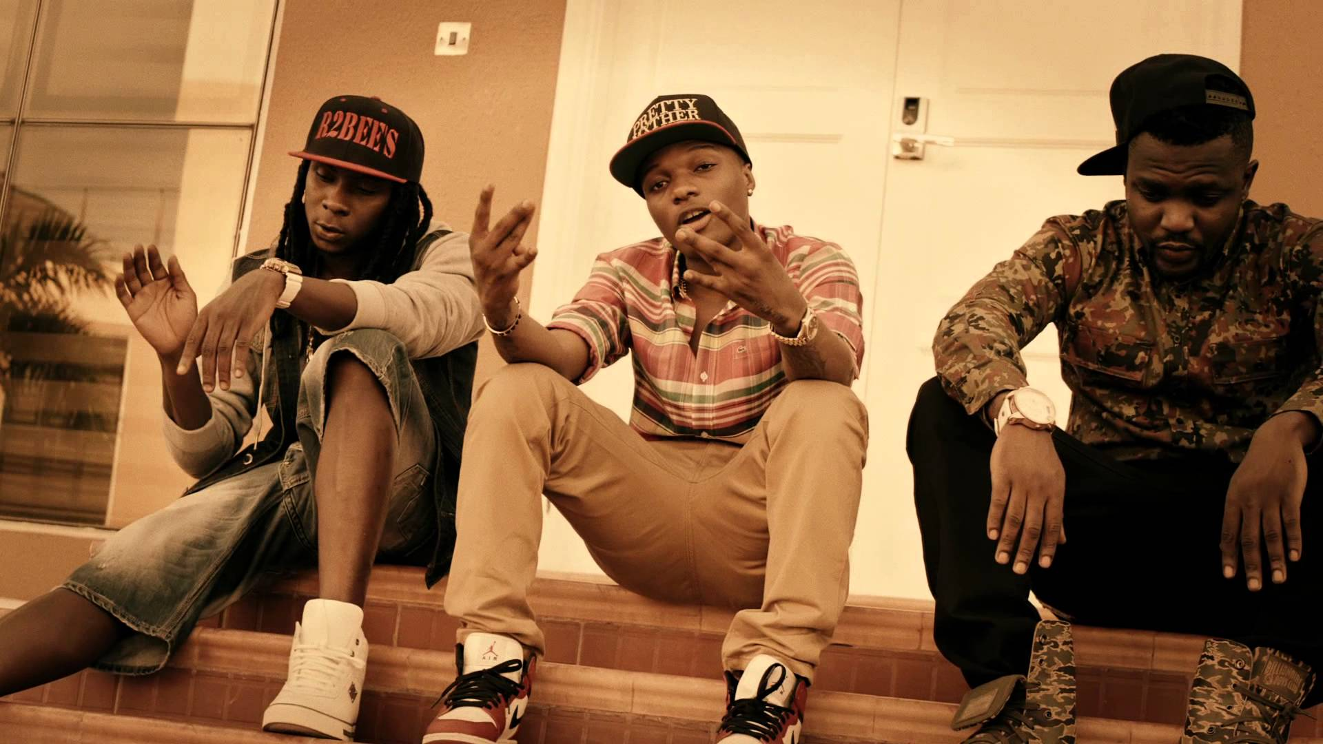 Ghanaian Duo, R2Bees Collaborate with Wizkid on New Song – Africhroyale