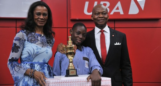 14–year old Odjegba Divine Emerge Winner of UBA Foundation's 2018 National Essay Competition