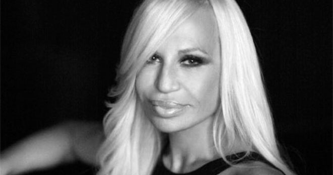 Donatella Versace Builds Replica of Lady Liberty's Torch, Calls it Symbol of Women and Strength