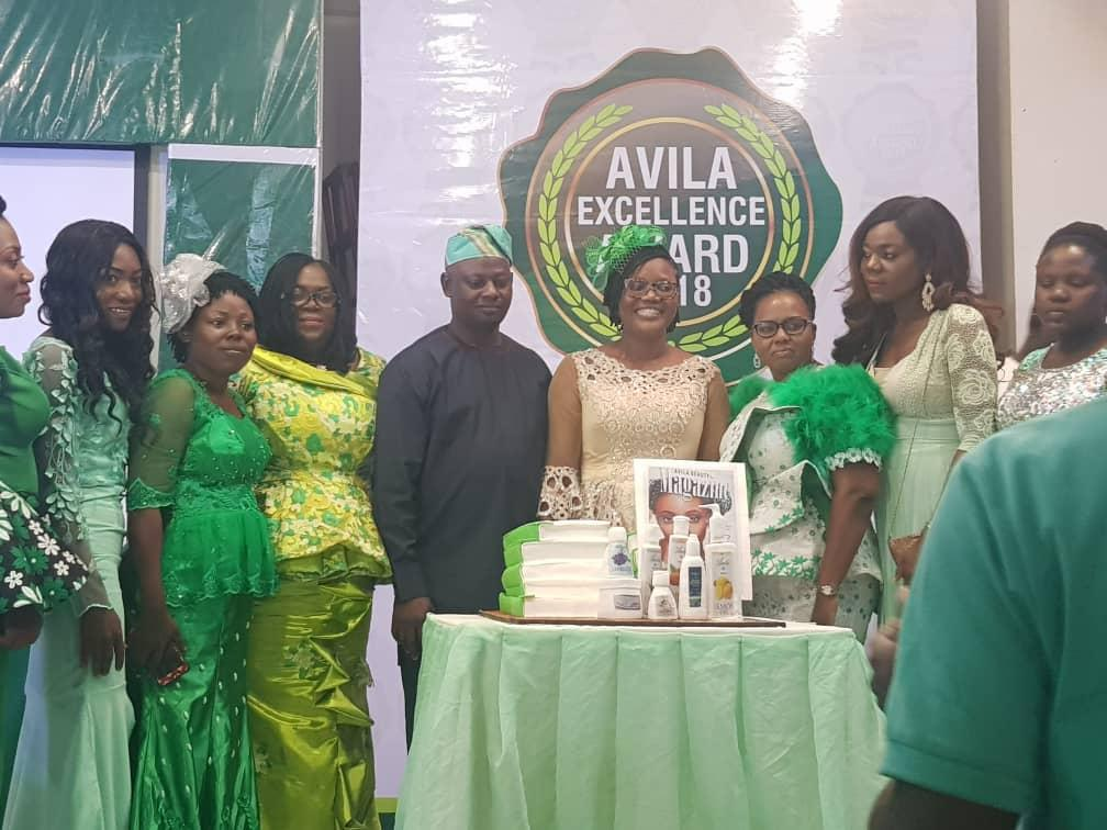 Avila Skincare Products Motivates Top Distributors in Nigeria/Africa with Juicy Awards
