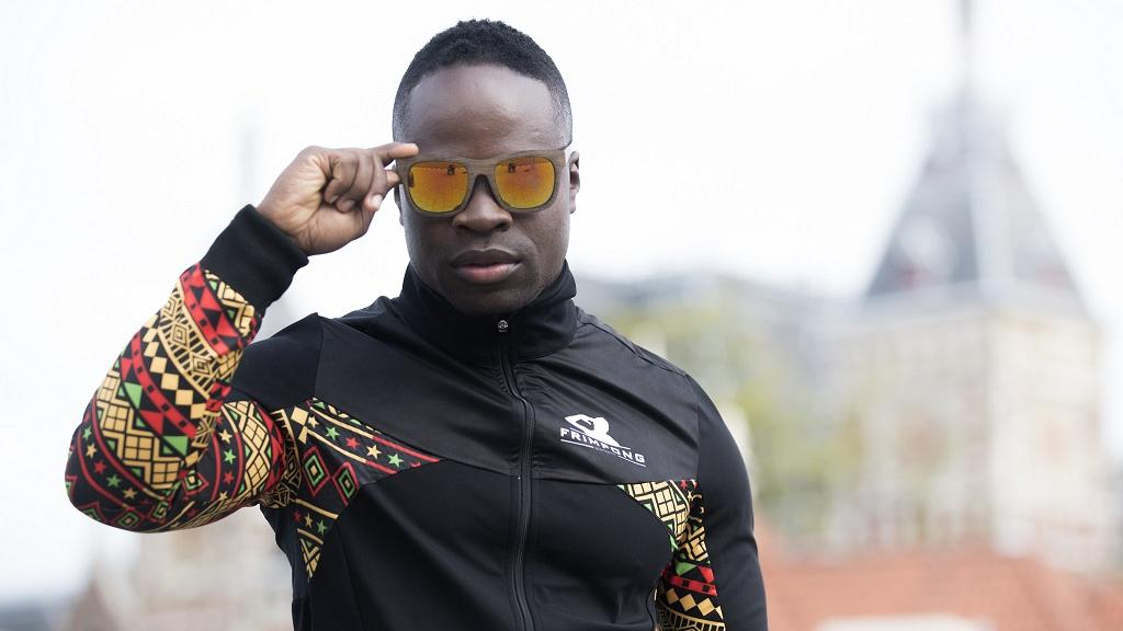 Ghana's Skeleton Olympian, Akwasi Frimpong, Launches Clothing Line