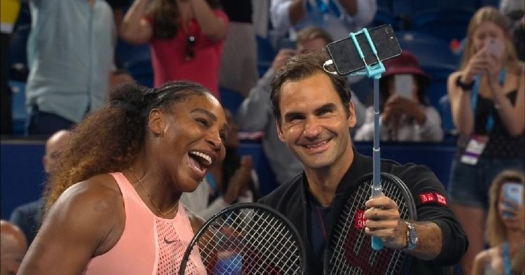 Serena, Federer Brand Each other G.O.A.T. After Historic Clash