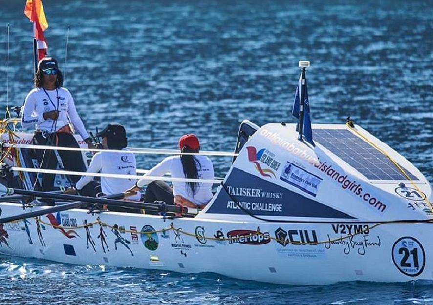 4-Woman Team, First All Afro-Caribbean Team to Row Across the Atlantic Ocean