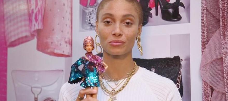 Ghanaian-British Model Adwoa Aboah among 20 Trailblazing Women Honoured with Own Barbie dolls