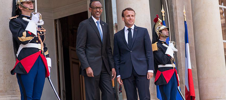 Rwandan Genocide 25th Anniversary: Kegame Sends IV to French President Emmanuel Macron