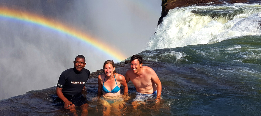 Victoria Falls; a wonder to behold