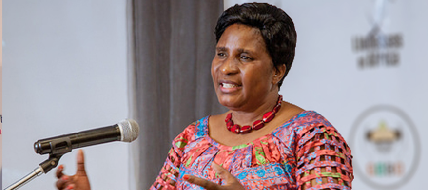Zambian Minister of Gender, Elizabeth Phiri Braves Women to Participate in Political Governance