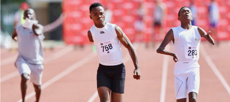 Namibian Athletes with Disabilities Cart Home 46 Medals from Stellenbosch