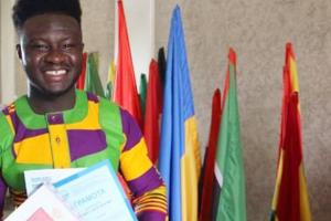 Ghanaian student