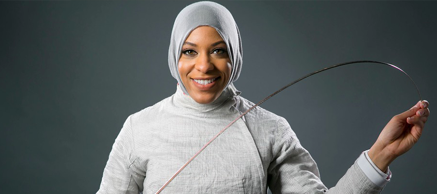 """Coloured Girls Inspired by America's First Hijab Olympian Ibtihaj with """"The Proudest Blue"""""""