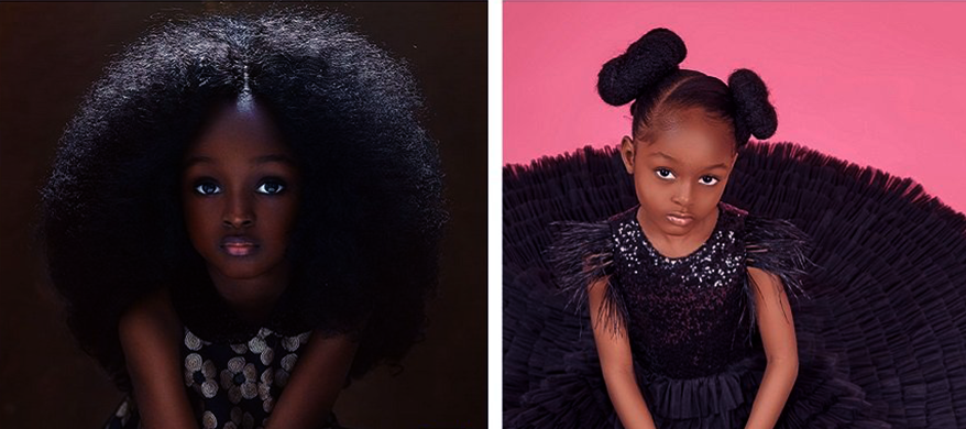 Meet Jare Ijalana – World's Most Beautiful Girl Debuts in International Modeling at 5