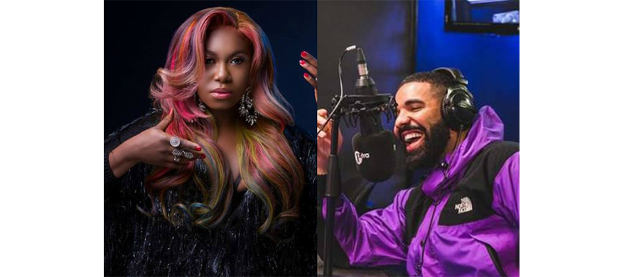 Drake follows Niniola on Instagram, requests for her hit track on Air