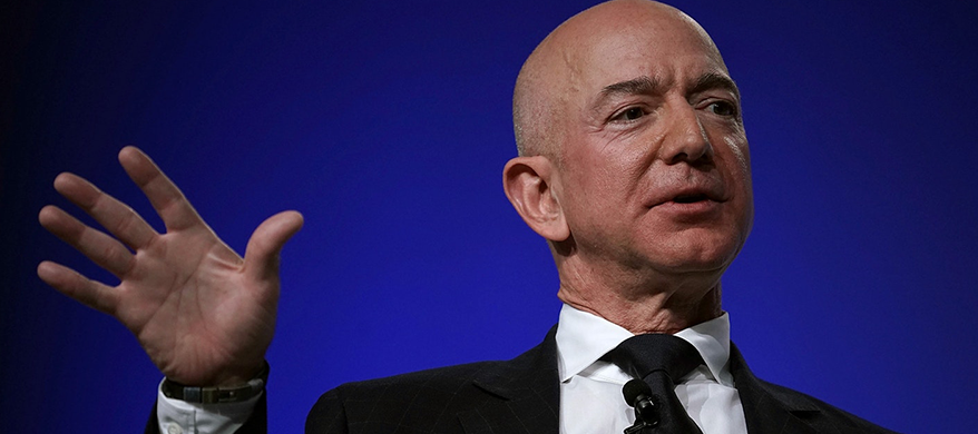 """""""It's Time to Go Back to The Moon"""", Says Amazon's Jeff Bezos"""