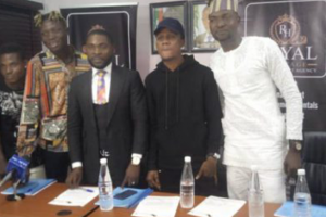 Royal Heritage Entertainment Signs New Artistes with Newly Launched Record Company
