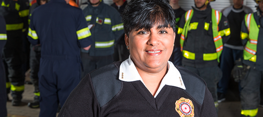 South Africa appoints first female firefighter after 174 years