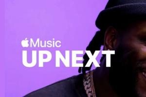 Burna Boy appears on Apple Music Up Next program
