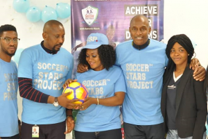 Fulham fc promises support to 60 goals soccer star project in Nigeria