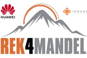Huawei, imbumba foundation partner for trek4mandela summit