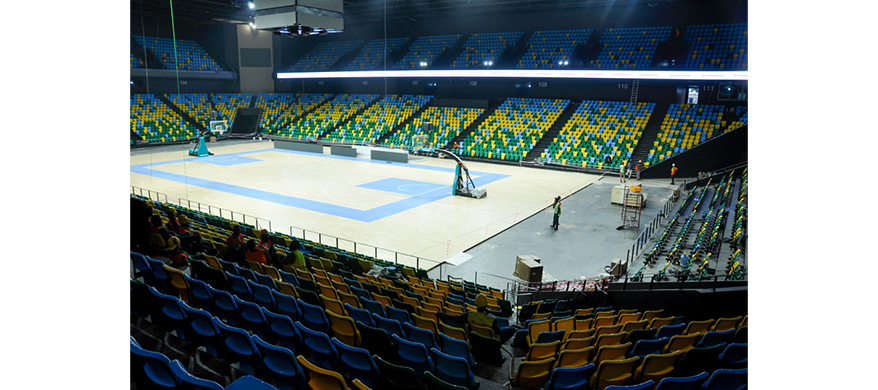 Rwanda Erects 10,000-Seat Basketball Arena for 2021 Africa Basketball Championships