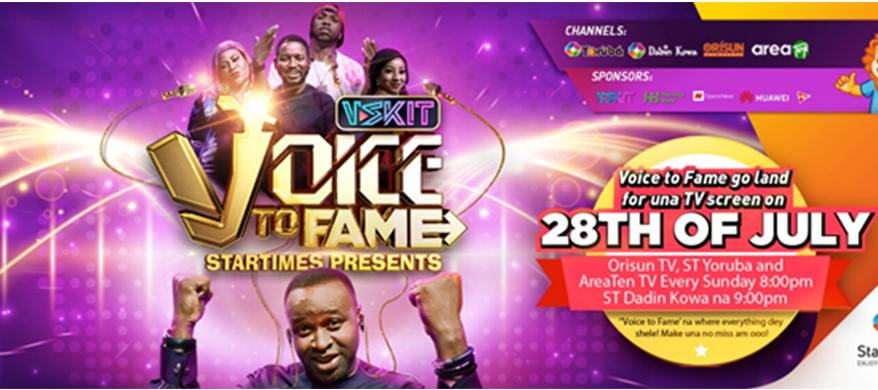 VSKIT collaborates with Startimes to launch a new TV show, 'Voice To Fame'