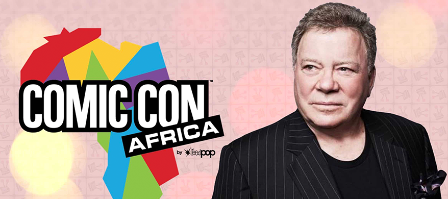 William Shatner to Make Appearance at Comic-Con Africa