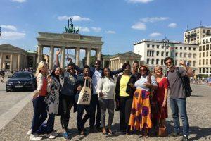 African dynamic career women in Germany unite