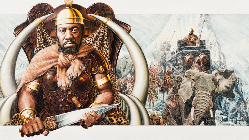 Hannibal, the black military general who conquered Europe