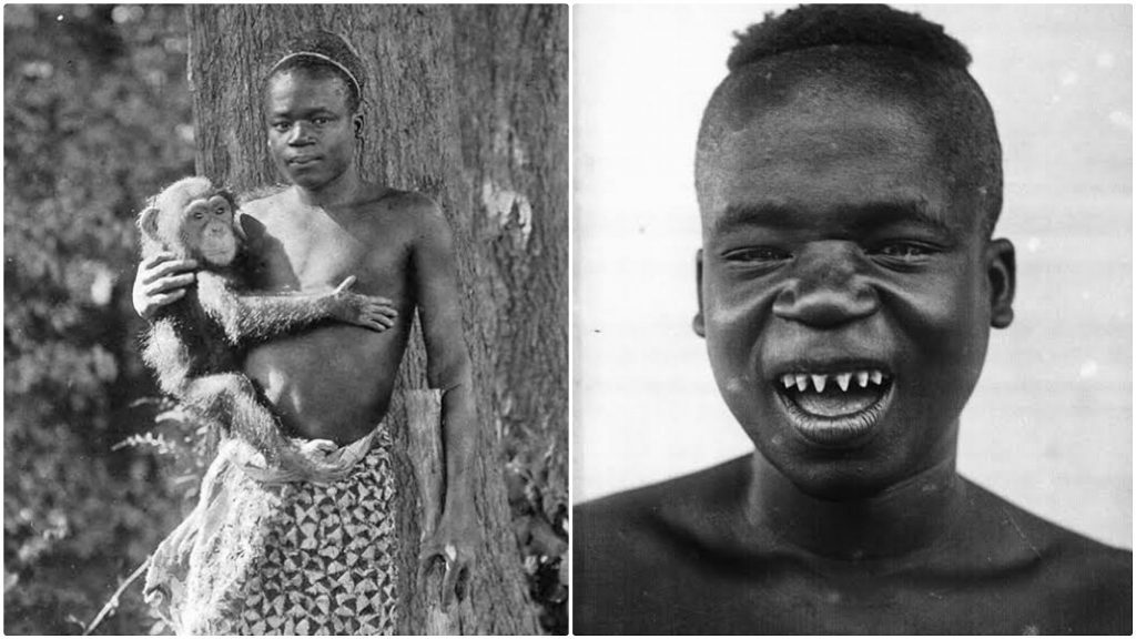 Ota Benga – stolen from Congo and caged in a zoo