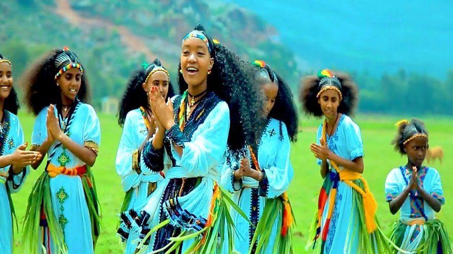 Ethiopia's Ashenda festival; a yearly affair for girls to showcase their beauty