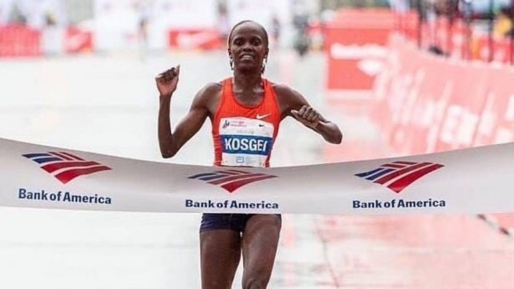 16yr World Marathon Record Shattered by Kenya's Brigid Kosgei