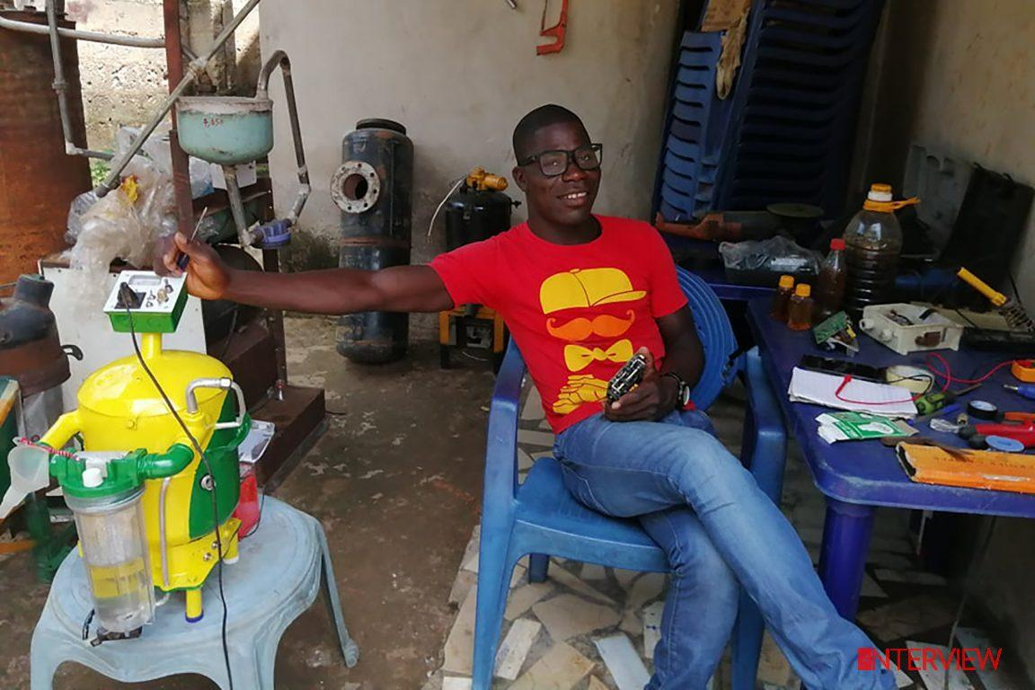 26-year old Nigerian set to solve country's power problem with invention of water-powered generator