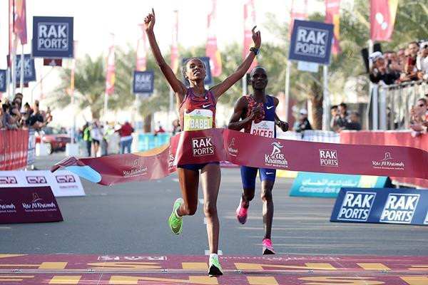 New women's half-marathon world record set by Ethiopia's Arabel Yeshaneh