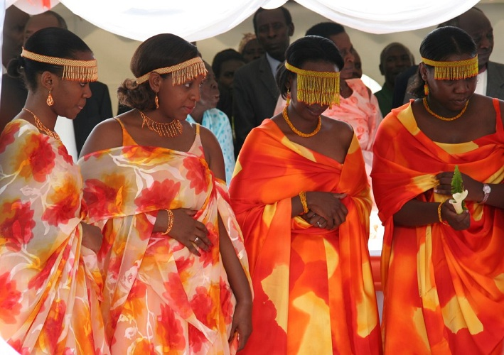 Banyankole: a Ugandan tribe which allows the bride's aunt to sleep with the groom to test its potency