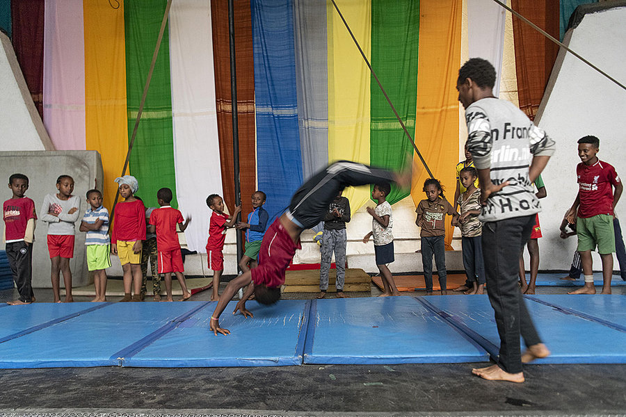 Fekat: the 'blossoming' circus of Addis Ababa