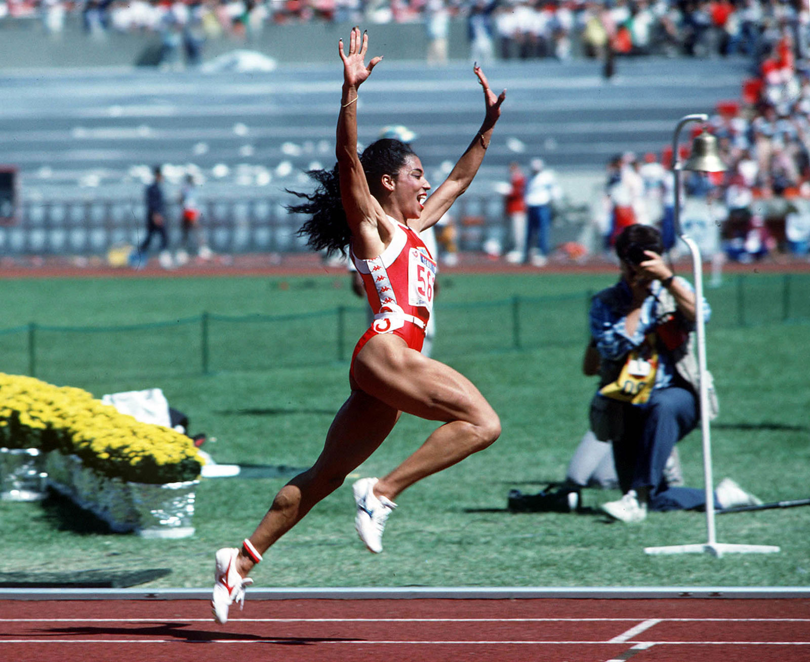 """Florence """"Flo Jo"""" Joyner, considered the fastest woman of all time"""