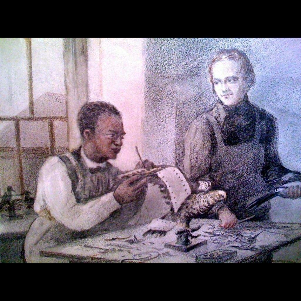 John Edmonstone: the freed slave black who taught Charles Darwin at the University Of Edinburgh