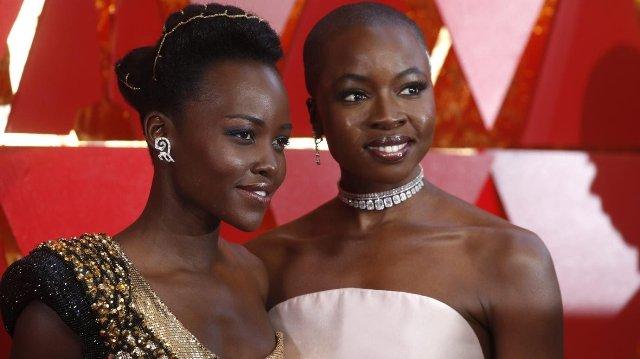 Lupita Nyong'o in Nigeria and set for shooting of HBO Max's series of Chimamanda Adichie's Americanah