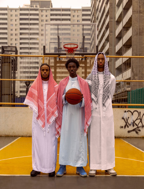 Nigerian-Canadian artist Josef Adamu: bridging the gap between the two cultures with 'Jump Ball'
