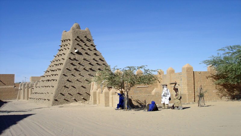 Sankore University in Timbuktu, Mali one of the world oldest universities