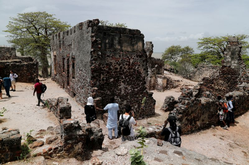Kunta Kinte Island is known as the 17th-century transit point and settlement for the Trans-Atlantic slave trade