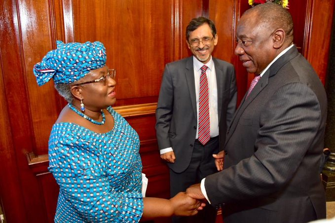 Nigeria's Okonjo-Iweala, three others appointed as Special Envoys of the African Union on COVID-19
