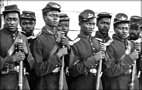 Abraham Lincoln accept Blacks for Military Service.