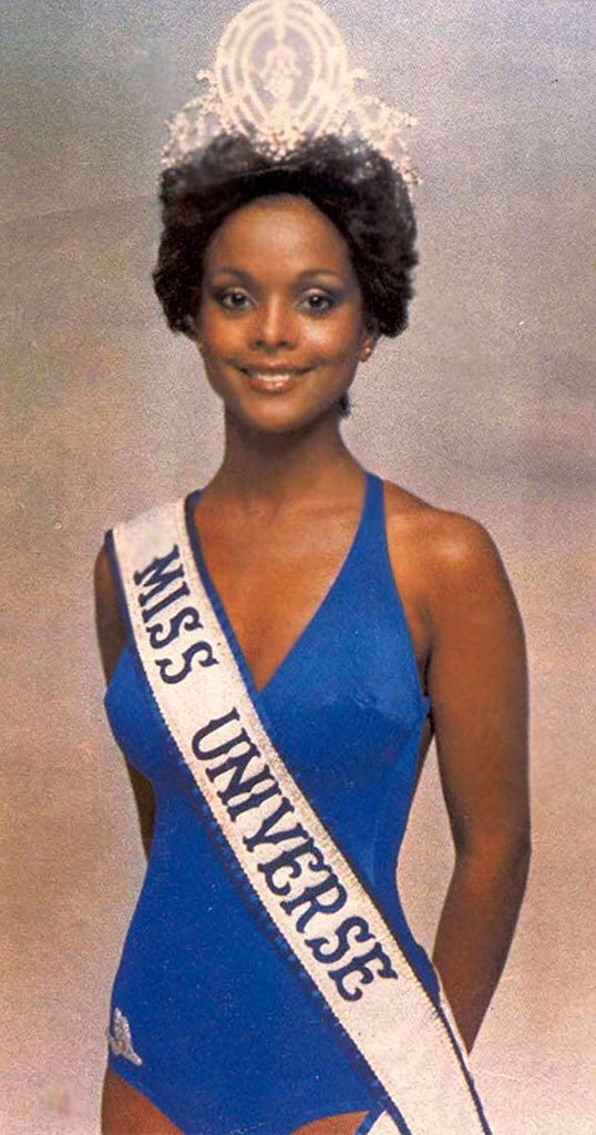 Janelle Penny Commissiong-Chow becomes the first Black Miss Universe